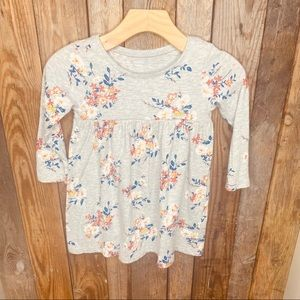 Floral Tunic-Dress 18-24 months Old Navy